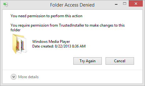Folder Access Denied: How to delete any folder in Windows ...