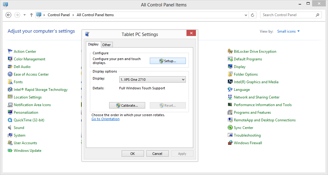 How to disable the touch screen display on your windows 8 computer